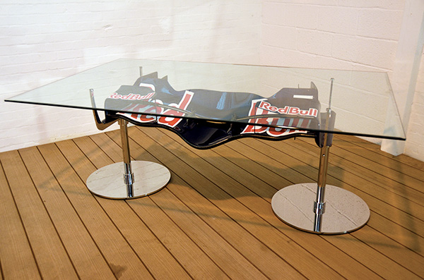 Red Bull Front Wing Table
