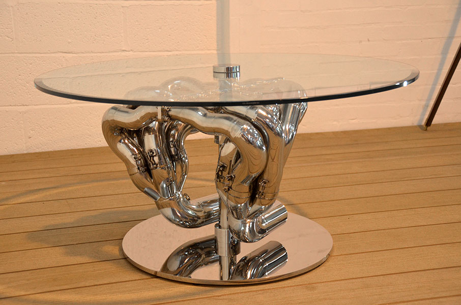 Williams F1 exhaust table